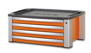 Beta C39T O Portable Tool Chest With Four Drawers (Orange)